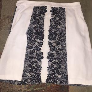 Laundry by Shelli Segal Sz 10 skirt